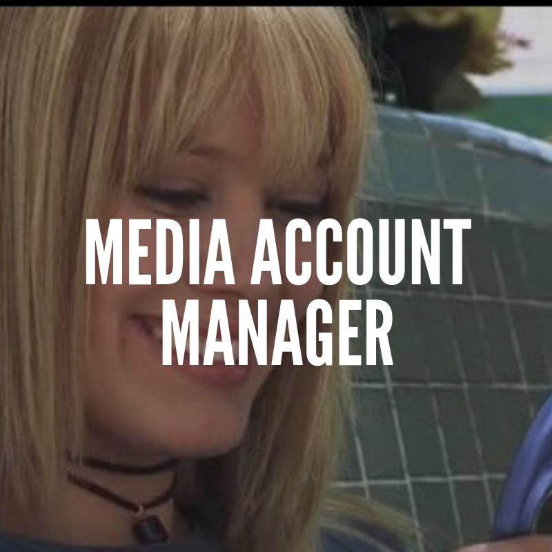 Media Account Manager