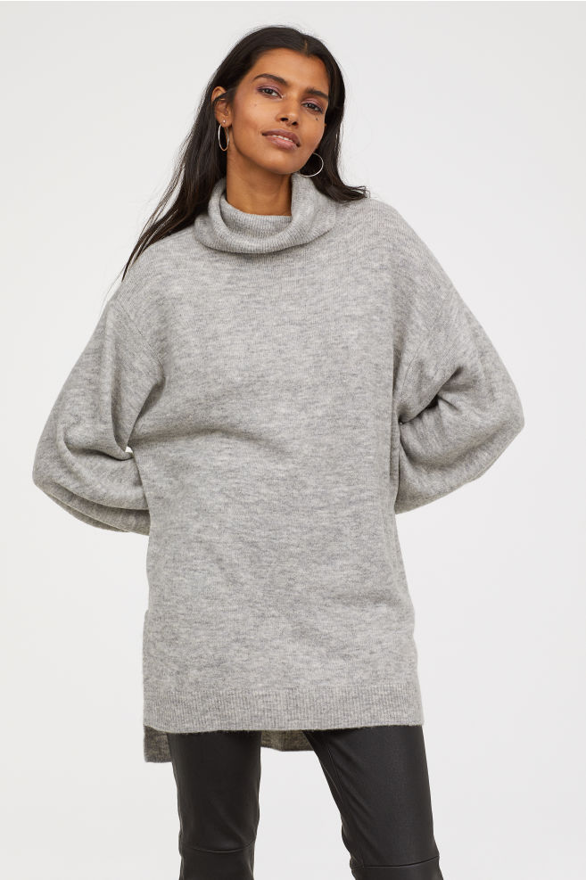 Hangover jumper - And for your Friday hangover, here's the perfect oversized jumper to hide in.