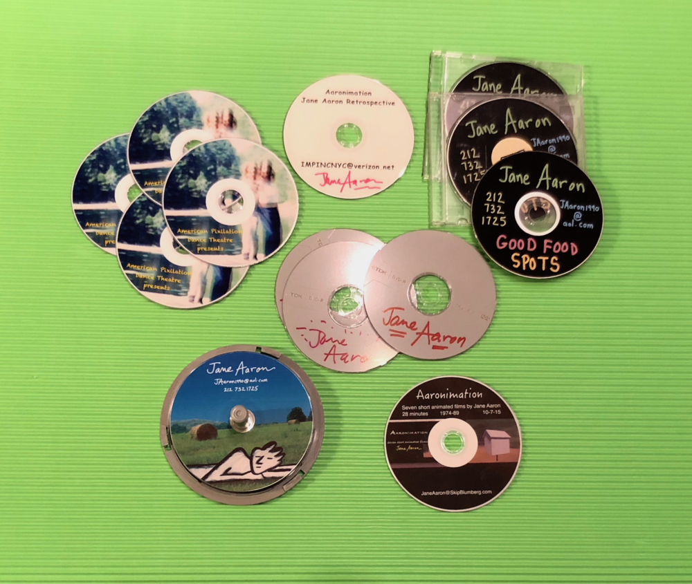 Various DVDs by Jane Aaron