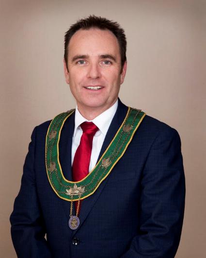Mayor Fraser Tolmie