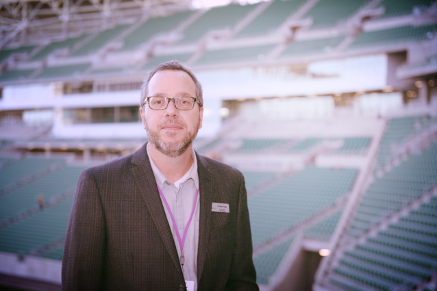 New DFFH GM, Graham Edge, comes with plenty of experience. He previously worked with Evraz Place, Brandt Centre and the 2010 Vancouver Olympic Winter Games.