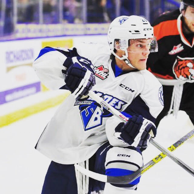 Braylon Shmyr leads the Saskatoon Blades into a Playoff they have little chance of succeeding in.