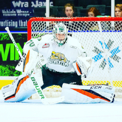 Carter Hart is the best junior goalie in the nation, as he proved in the World juniors. Alone, he has the ability to win games.