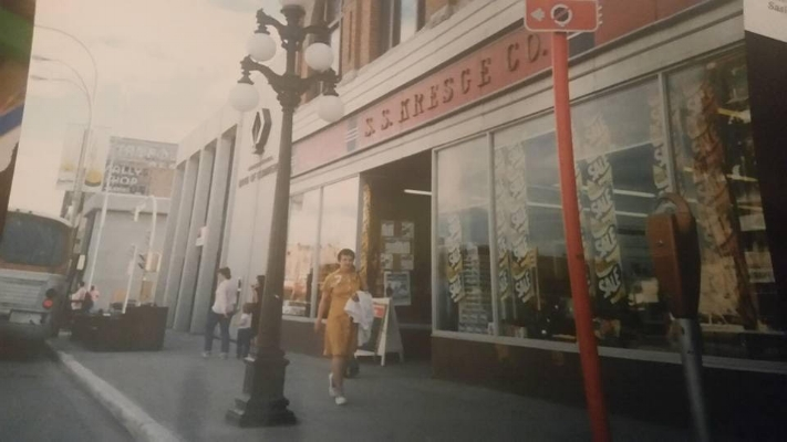 S.S. Kresge Co., street view  Photo credit: Angie Sjoberg/  Moose Jaw Dayz