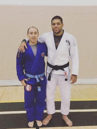 Coach Donald Booth from Control Jiu-Jitsu with Andre Galvao