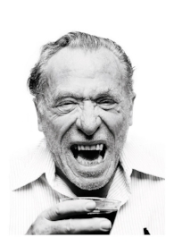 Charles Bukowski, the notorious poet was also a fierce alcoholic and a well known tough guy. Barfly and Factotum are just two of the movies made about his story