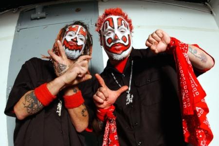 Shaggy 2 Dope and Violent J make up Insane Clown Posse