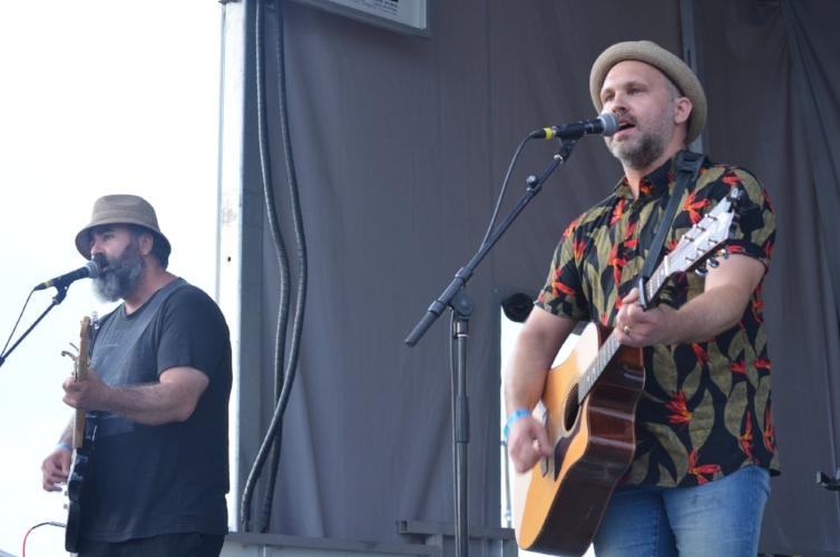 The Karpinka Brothers brought their joyful garage-folk sound and fun energetic sing-alongs with them.