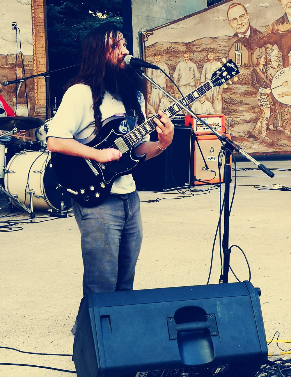 John Dale performing at Band City Fest