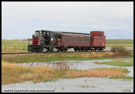 Southern Pacific Passenger Train