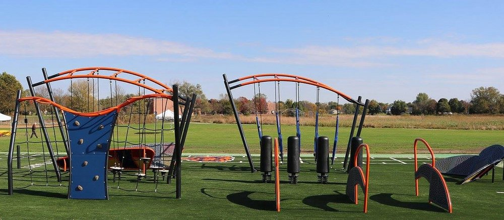 A similarly styled playground.