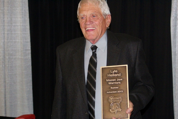 Lyle Helland was inducted into the Warriors Hall of Fame in 2013.   Photo: Discover Moose Jaw