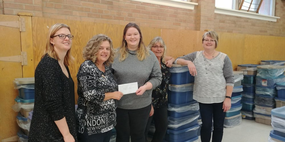 Donation made to Hunger in Moose Jaw