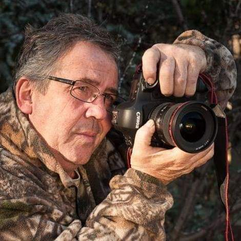 Bob Schuktz, likely out shooting deer, but with his camera. - Submitted Photo