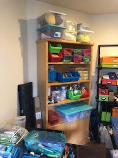 Craft Room After Organization