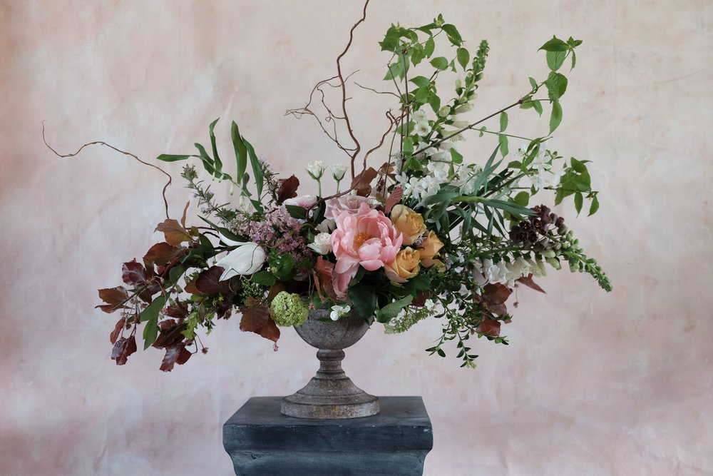 © Twisted Sisters   Table Arrangement   Luxe £150, Standard £95