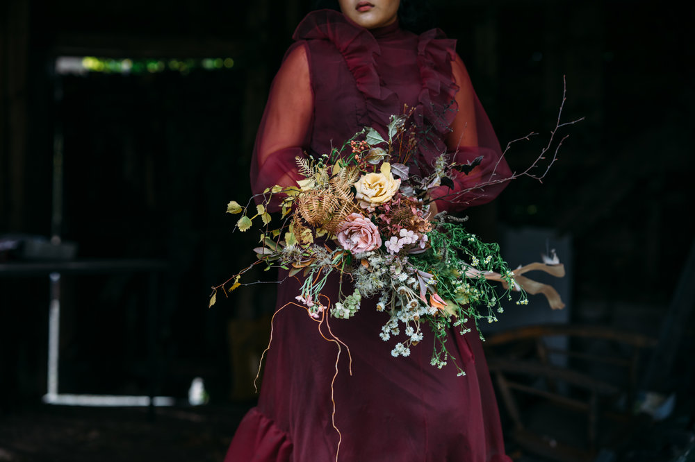 © Matthew Walsh Photography   Bridesmaid Bouquet   Luxe £70, Standard £50