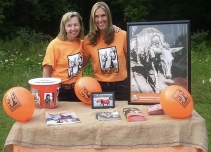 Volunteering to fundraise for Brooke USA is another great way to make a contribution that will help the animals in our programs.