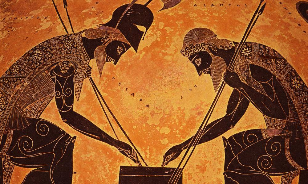 Amphora 344 Exekias