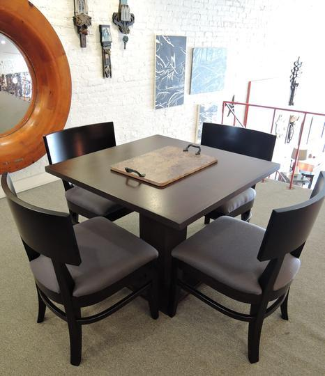 Cole gaming table and chairs by  John Strauss