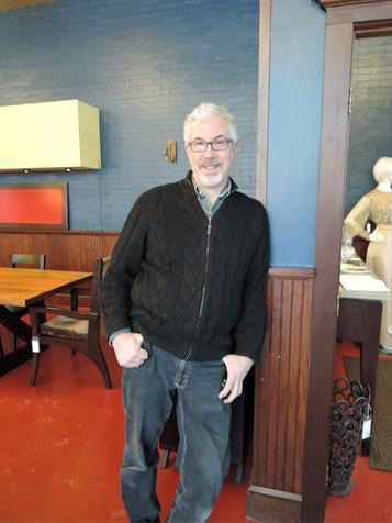 John Strauss of John Strauss Furniture in Canton