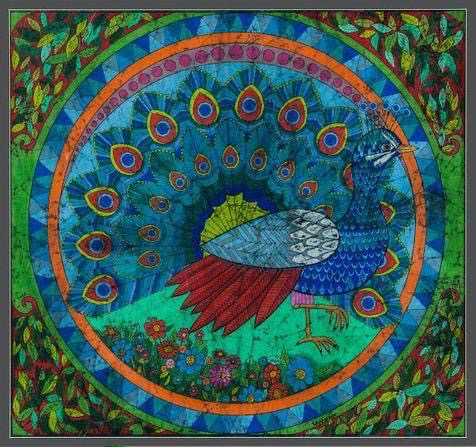 """Peacock"", by Lawrence A. Walker"