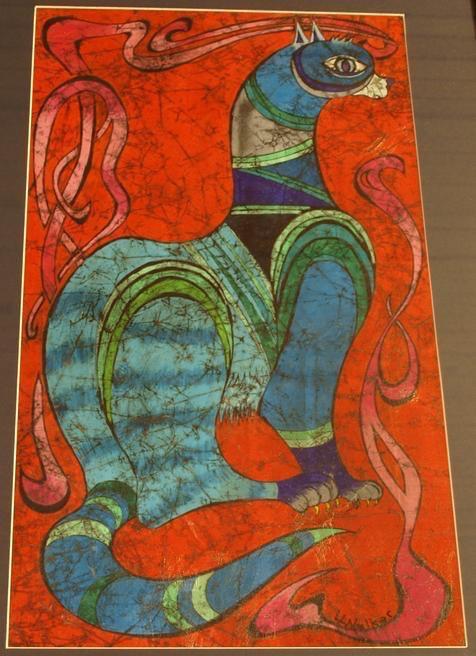 Crayon Batik by Larry Walker