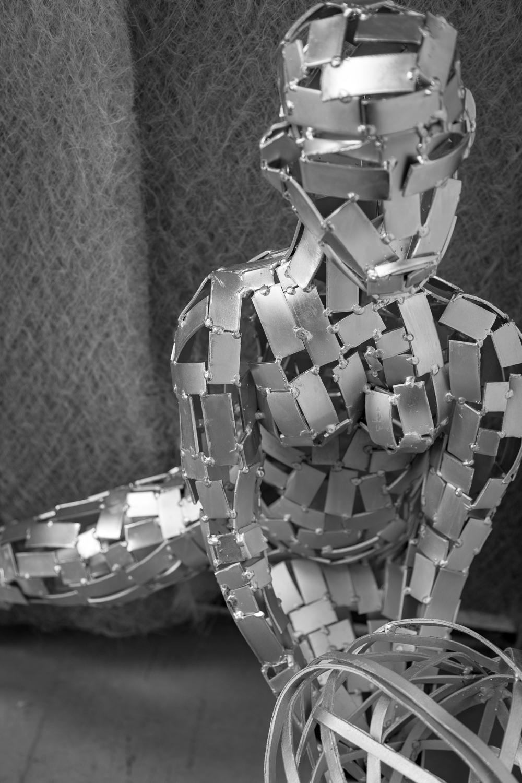 Sculpture en metal