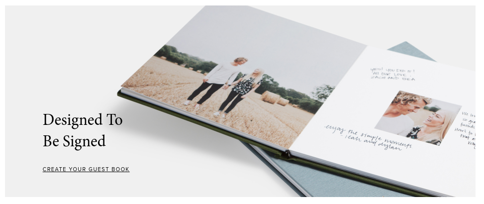 Print wedding album