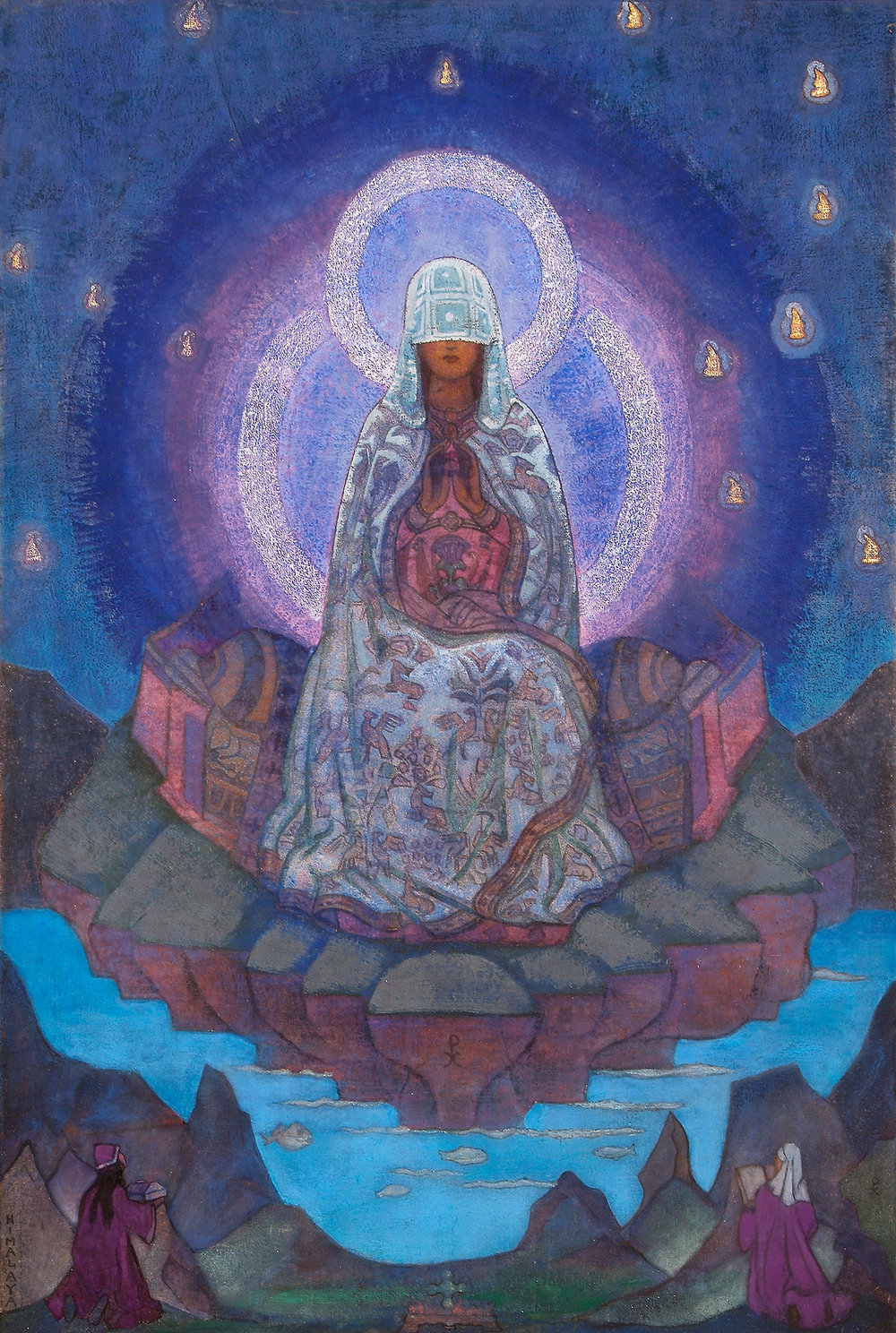 Mother of the World,  1937 • by Nicholas Roerich