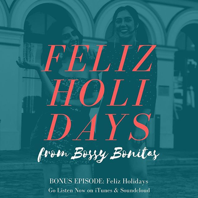 Happy Holidays, Feliz Navidad, Happy Hanukkah, etc. Bring out los tamales y el champurrado! All my Latinxs know today is the day we celebrate. Enjoy this early gift from @bossybonitas. Link in bio.