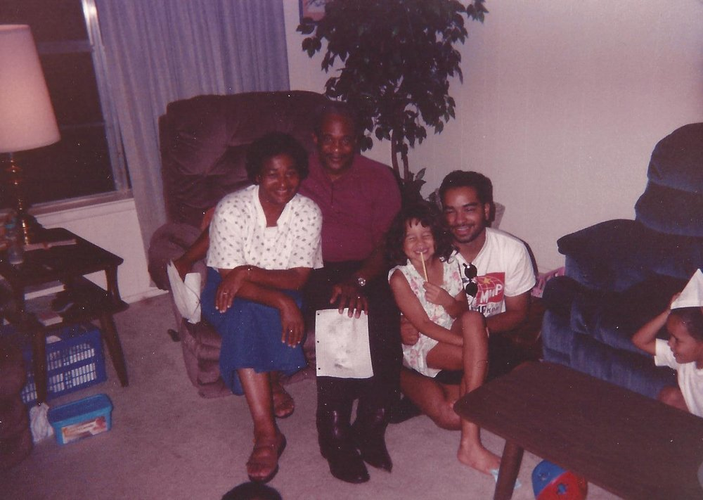 One of the first times I met my dad. I was 6or 7 here. He was about 23 or 24. We look just alike.