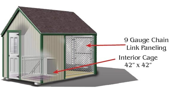 High Quality Dog Kennel Specs