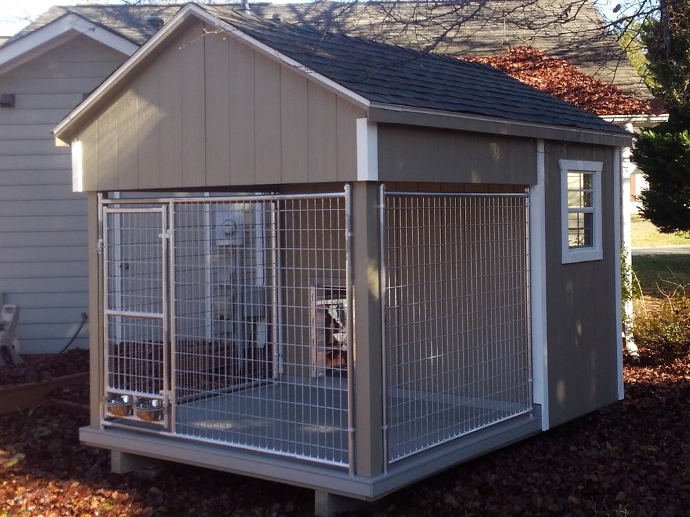 Single Dog Kennel for Law Enforcement