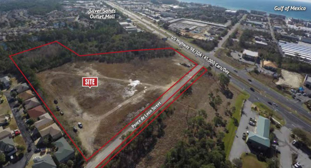 DESTIN EXCHANGE  10.6 Acre Bank Owned Commercial Land Disposition