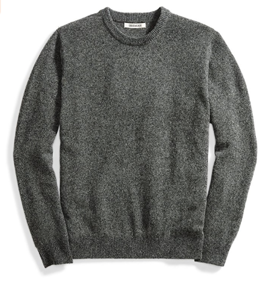 Buy it for Less - You can easily find similar looking sweaters for a low cost but I wanted to try and find a 100% wool version that is still affordable so you have a decent quality as well. Amazon's Brand, Goodthreads, came through for me! Buy it here