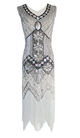 Under $50 - I love this flapper style dress - its so fun and the beadwork is beautiful! I think it truly is a statement piece and it comes in tons of colours. By it here