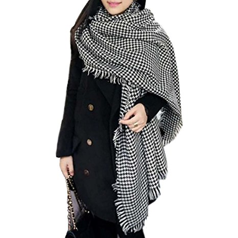 Houndstooth - A black and white houndstooth is such a classic item and should be a staple in any wardrobe. I got mine at H&M and I might be replacing it with this one soon! Buy it here