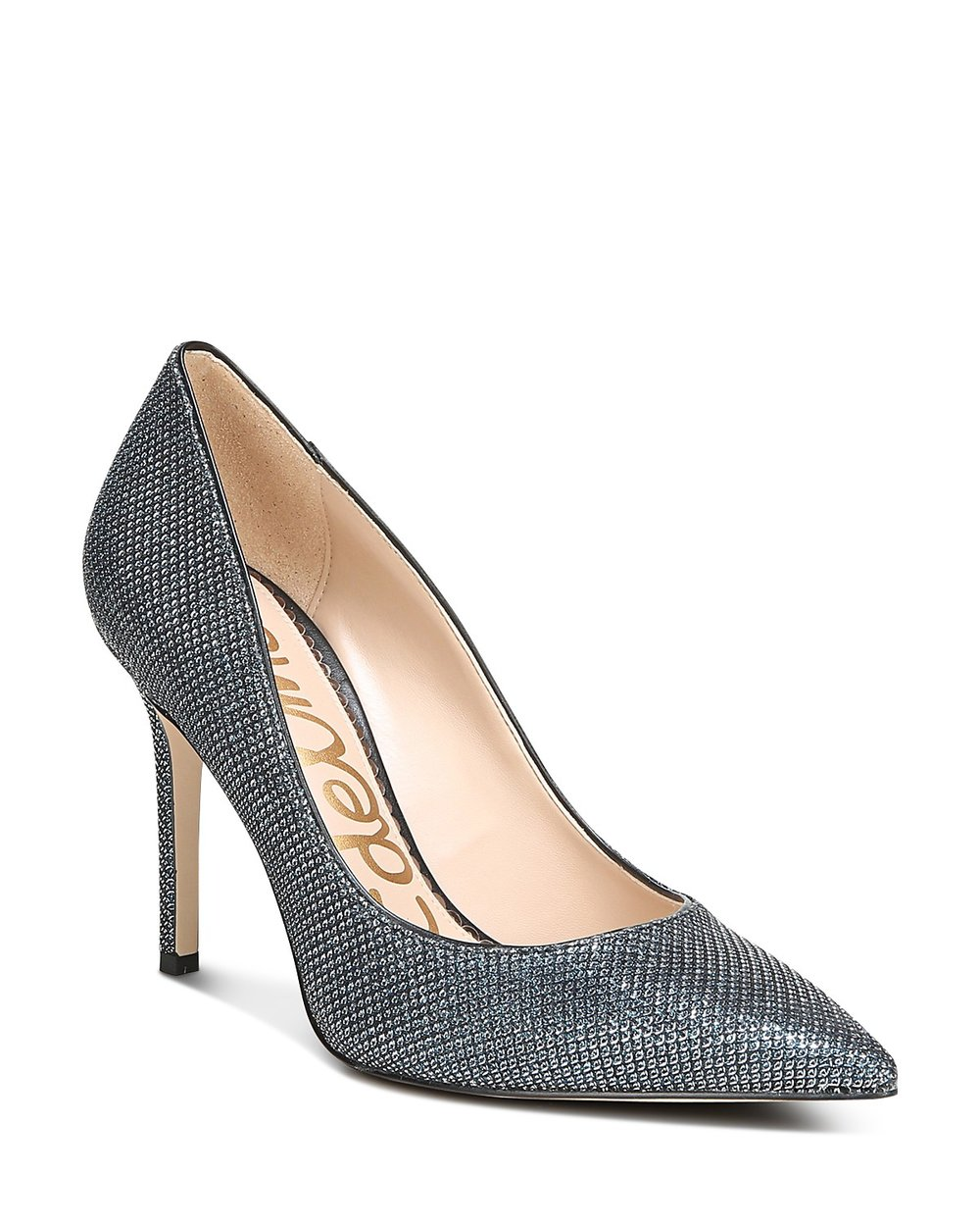 The Mermaid - These pumps have a smaller size scale but I love the iridescence of them. They really are beautiful but not too loud and retail for $84.00. Buy them here!