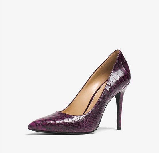 The Professional Pump - These Michael Kors pumps are really beautiful and simple but the colour is amazing and definitely makes a statement! They are even on sale for only $65.81! Buy them here!
