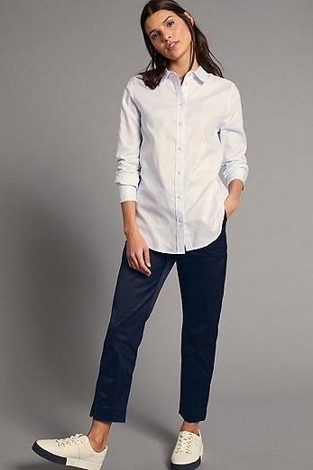Split Hem Trousers - 97% Supima Cotton 3% Polyurethane$77.00Buy it Here