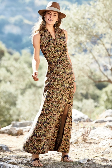 Hira Maxi Dress - 51% Pima Cotton 49% Modal$79.00Buy it Here