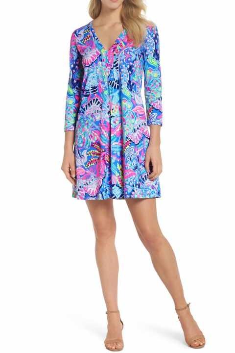 Amina Printed Shift Dress - 100% Pima Cotton$108.00Buy it Here