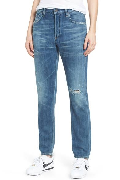 Corey Slouchy Slim Jeans - 100% Pima Cotton$328.00Buy it Here