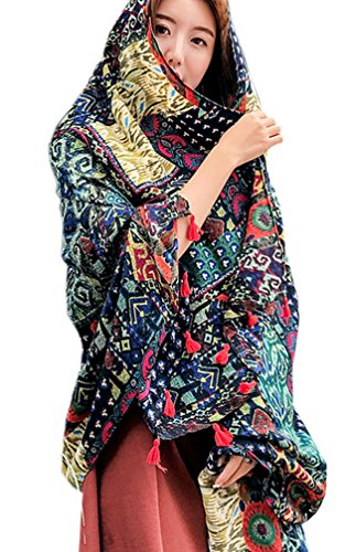 Statement Piece - For those of you who like to make more of a statement - this pashmina is for you! It is available in so many patterns and you can't beat it at $15.69! Buy it Here!