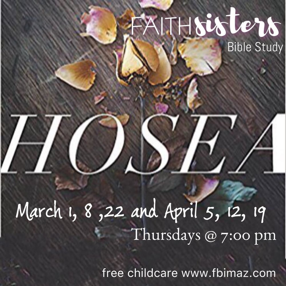 Faith Sisters - AM & PM Bible Study