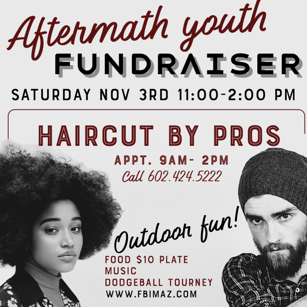 YOUTH Fundraiser - Saturday, November 3rdHaircuts 9:00 am -2:00 pmOutdoor Fun 11-2pm