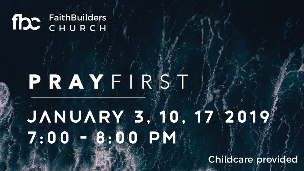 Corporate Prayer - Thursday, January 10th 78:00 pm