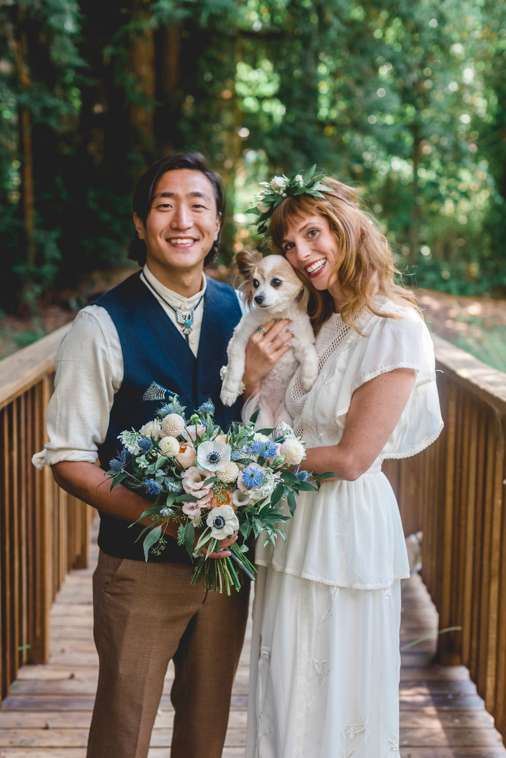 An intimate wedding in the Bay area: 4 hours | One Photographer