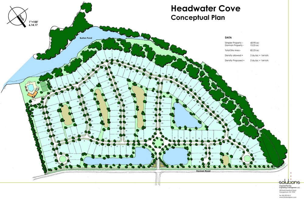 HEADWATER COVE - Sussex County, Delaware